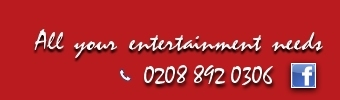 Glam Slam Entertainments - all your entertainment needs 02088920306.
