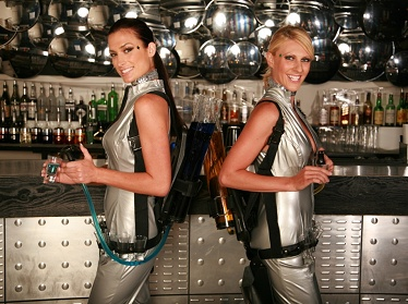 Space Age Shot Girls