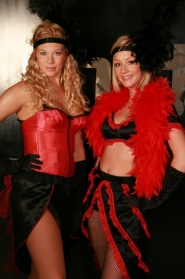 Moulin Rouge Shot Girls