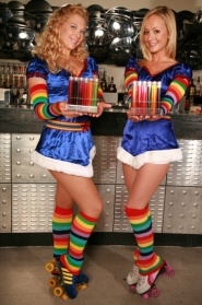 Test Tube Shot Girls
