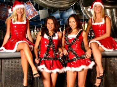 Shot Girls for Christmas!